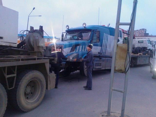 Эвакуация легковых, грузовых автомобилей автобусов и спецтехники 24ч