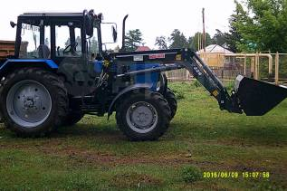 МТЗ 82. Продам трактор с импортным погрузчиком металл фэйч, 86 л.с.