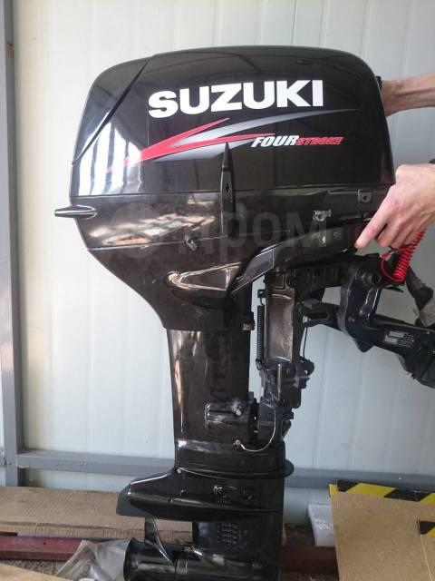 Suzuki. 25,00л.с., 2-тактный, бензиновый, нога S (381 мм), 2007 год год
