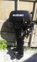 Suzuki. 15,00л.с., 2-тактный, бензиновый, нога S (381 мм), 2009 год год