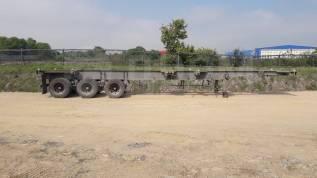 Korea Trailer Jindo. Полуприцеп-контейнеровоз 3-х осная Jindo JCC40XHE (Корея), 30 650кг. Под заказ