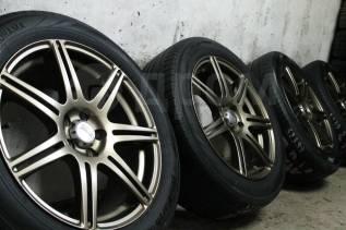 """Только из Японии! =Фирменные японские диски=Bridgestone=BEO=+жирн шины. 7.0x17"""" 5x100.00 ET48"""