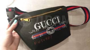 Брендовая сумка на пояс Gucci