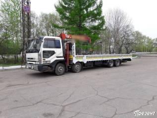 Услуги бортовых грузовиков от 3 до 12 тонн с краном-манипулятором