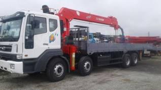 Daewoo Novus. 19 тонн c КМУ Z-ton 1205 (12тонн) - 2018год, 10 964куб. см., 19 000кг.