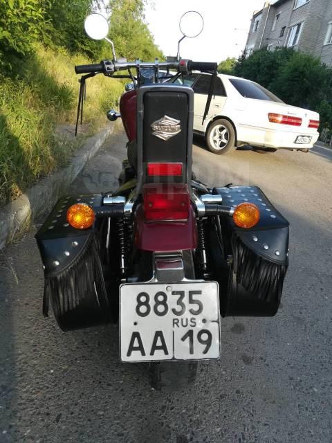 Suzuki VS 400 Intruder. 400куб. см., птс, с пробегом