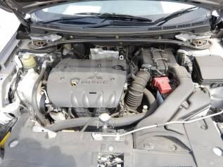 Двигатель в сборе. Mitsubishi Lancer Evolution, CY4A Mitsubishi Outlander, CW4W Mitsubishi Galant Fortis, CX4A, CY4A Двигатель 4B11