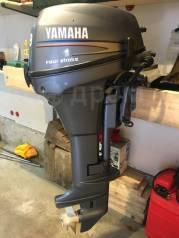 Yamaha. 9,90л.с., 4-тактный, бензиновый, нога L (508 мм), 2007 год год