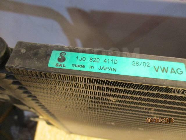 Радиатор кондиционера. Volkswagen Bora, 1J2, 1J6 Volkswagen Golf, 1E7, 1J1, 1J5 Двигатели: AEH, AGN, AGP, AGR, AGU, AGZ, AHF, AHW, AJM, AKL, AKQ, ALH...