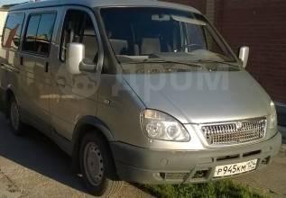 ГАЗ 2217 Баргузин. Продается микроавтобус ГАЗ 2217 (Соболь с низкой крышей), 2 500куб. см., 7 мест