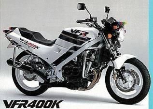 Honda VFR 400. 400куб. см., исправен, птс, с пробегом