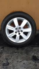 """Продам Три Оригинальных Колеса на Литье Volkswagen. 6.0x15"""" 5x100.00 ET-40 ЦО 57,1мм."""