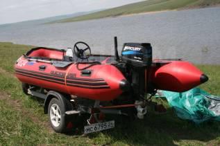Quicksilver. 2007 год год, длина 4,30м., двигатель подвесной, 30,00л.с., бензин