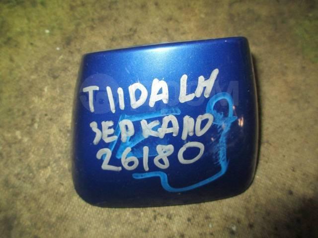 Накладка на зеркало. Nissan Tiida Latio, SC11, SJC11, SNC11, SZC11 Nissan Tiida, C11, C11X, JC11, NC11 Двигатели: HR15DE, HR16DE, MR18DE