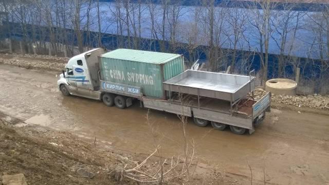 Услуги бортовые, площадки, контейнеровозы, тралы ДВ регион