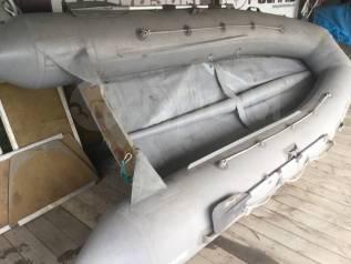 Лодка надувная ПВХ. длина 4,00м., двигатель без двигателя