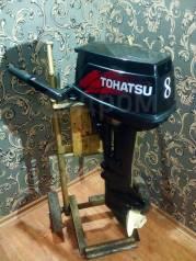 Tohatsu. 8,00л.с., 2-тактный, бензиновый, нога S (381 мм), 2005 год год