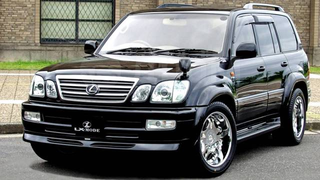 Обвес кузова аэродинамический. Toyota Land Cruiser, FZJ100, HDJ100, HDJ100L, J100, UZJ100, UZJ100L, UZJ100W Toyota Land Cruiser Cygnus Lexus LX470