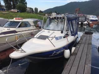 Корвет-600 WA. 2008 год год, длина 6,20м., двигатель подвесной, 150,00л.с., бензин