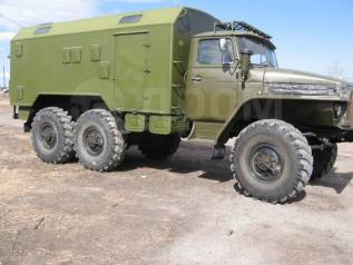Урал 375А. УРАЛ 375 Кунг, 7 000куб. см.
