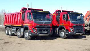 Volvo. Самосвал FM Truck 8x4 2015, 12 777куб. см., 30 600кг.