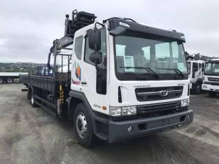 Daewoo Novus. 7 тонн HIAB160 - 2018год, 5 890куб. см., 7 000кг.