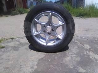 """Продам колесо (литьё) с резиной. 7.0x15"""" 5x105.00"""