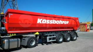 Kassbohrer. Самосвальный полуприцеп Kasbohrer , 32 куба, 35 000кг.