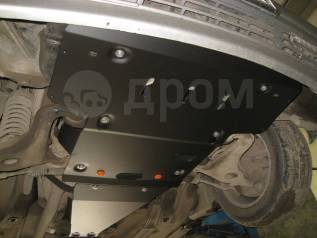 Защита двигателя железная. Kia Bongo Toyota Land Cruiser Toyota Land Cruiser Prado, TRJ120W, RZJ120W, GRJ120, VZJ121W, TRJ120, GRJ125W, KDJ120W, GRJ12...