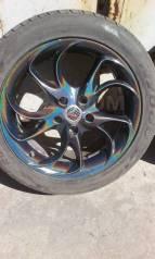 "Продам комплект летних колёс. 7.5x17"" 5x114.30 ET42"