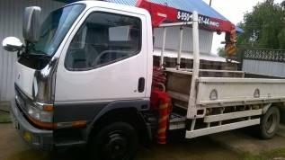 Mitsubishi Canter. Продается грузовик с крановой установкой, 4 200куб. см., 3 000кг.