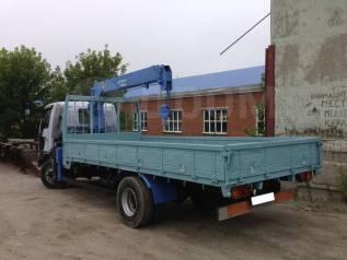 Бортовой грузовик с краном 3т