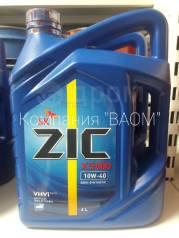 ZIC X5000. Вязкость 10W-40, полусинтетическое