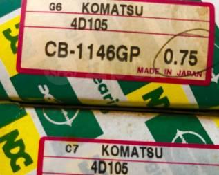 Вкладыши шатунные. Komatsu D31E Двигатель 4D1053