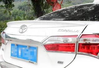 Спойлер. Toyota Corolla, NDE180, NRE180, ZRE181, ZRE182 Двигатели: 1NDTV, 1NRFE, 1ZRFAE, 1ZRFE, 2ZRFE
