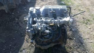 Двигатель в сборе. Toyota Carina, CT176 Двигатель 2C