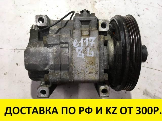 Компрессор кондиционера. Mazda: Training Car, Premacy, 626, Familia, 323, Capella Двигатели: ZLDE, ZLVE
