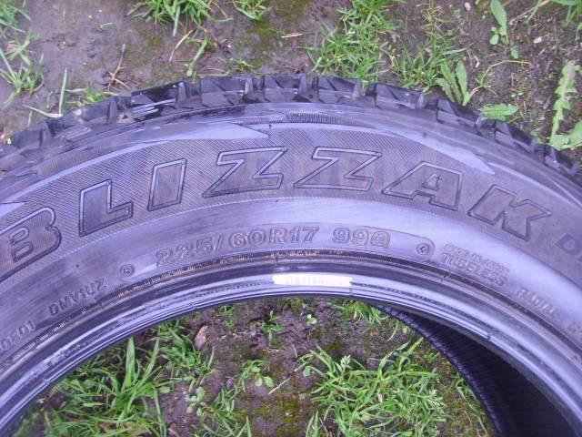 Bridgestone Blizzak. Зимние, 2010 год, 10%, 4 шт. Под заказ