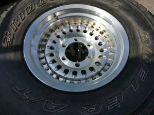 """Комплект отличных колес 31*10.5R15 Bridgestone dueler A/t RAYS P-VOLK. 8.0x15"""" 6x139.70 ET2. Под заказ"""