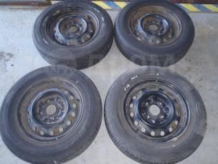 """Комплект летних колес 175/70 R14 Dunlop. x14"""" 4x114.30 ЦО 66,0мм."""