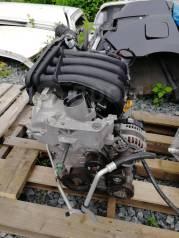 Двигатель в сборе. Nissan: Wingroad, Bluebird Sylphy, Cube, Tiida Latio, Tiida, Cube Cubic, March, Latio, AD, Note Двигатель HR15DE