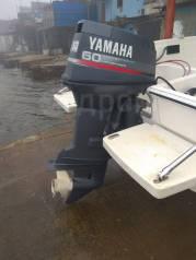 Yamaha. 60,00л.с., 2-тактный, бензиновый, нога L (508 мм), 2000 год год