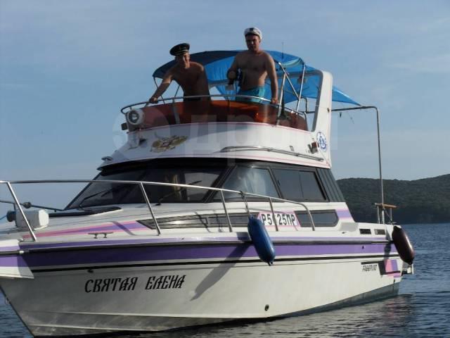 Аренда катера 28 футов. Морские прогулки. Ночные. 7 человек, 30км/ч