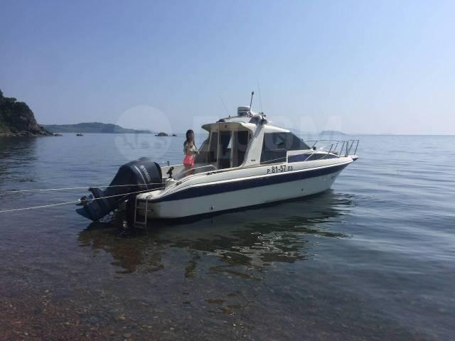 Катер 26 футов Рыбалка, Острова, Прогулки, Отдых. 8 человек, 60км/ч