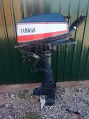 Yamaha. 8,00л.с., 2-тактный, бензиновый, нога S (381 мм), 1991 год год