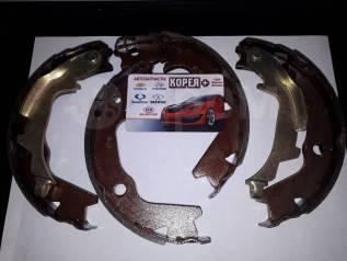Колодки тормозные барабанные. Kia Optima Kia Magentis Kia Regal Kia Soul Hyundai: H1, Starex, Getz, Click, Sonata Двигатели: D4BB, D4BH, D4CB