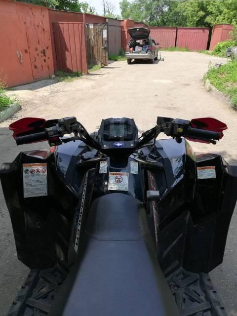 Polaris Scramber XP 850. исправен, есть птс, с пробегом