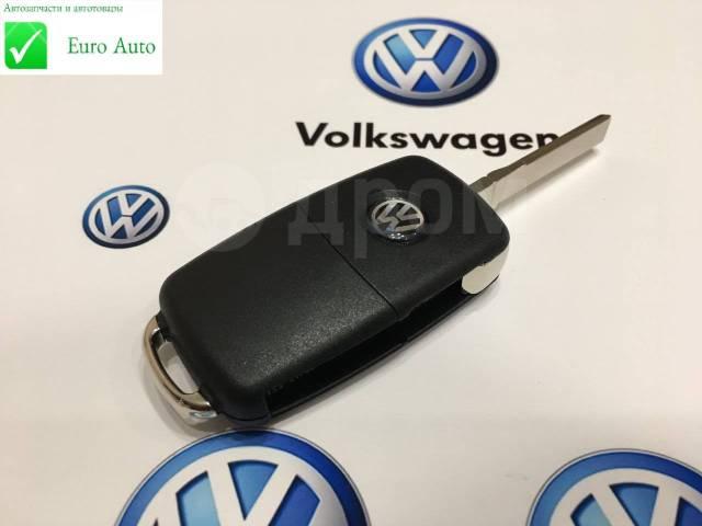 Ключ зажигания, смарт-ключ. Volkswagen: Caddy, Passat, Eos, Jetta, Transporter, up!, Scirocco, Ameo, Tiguan, Sharan, Touran, Golf, Beetle, Polo, Fox Д...
