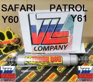 Амортизатор поперечный рулевой. Nissan Patrol, Y61, Y60 Nissan Safari, TY61, VRGY61, WGY61, WRGY61, WYY61, Y61 Двигатели: RD28TI, TB48DE, ZD30DDTI, TB...