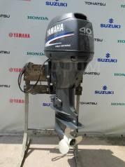 Yamaha. 40,00л.с., 4-тактный, бензиновый, нога L (508 мм), 2008 год год